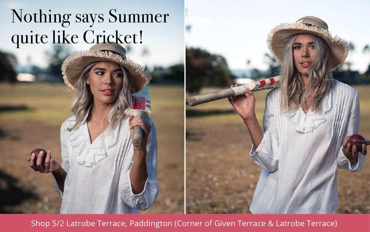 Nothing says summer like cricket