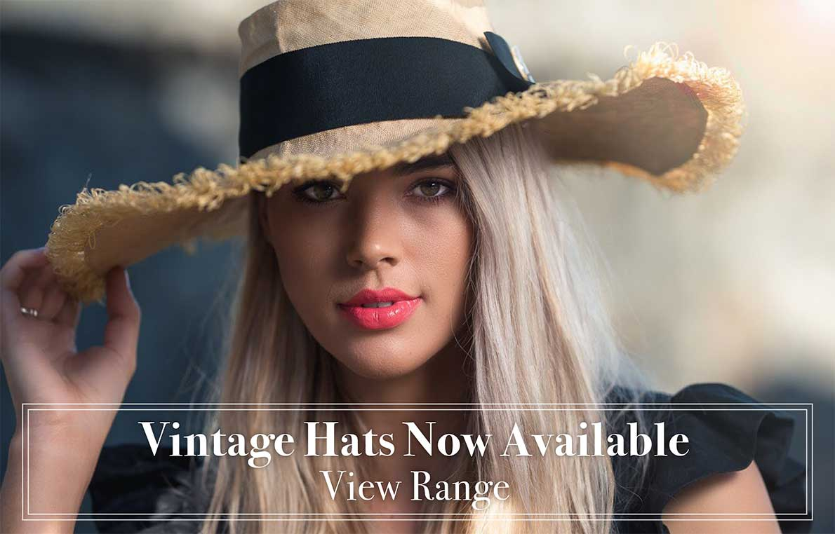 Vintage Hats Now Available. View Range. By ChercherLaFemme