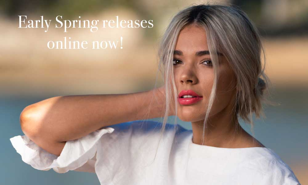 Early Spring releases online now!